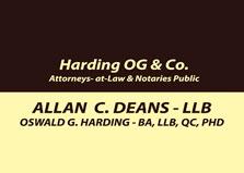 Harding OG & Co Attorneys at Law logo