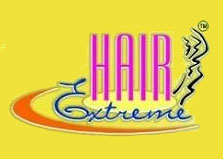 Hair Extreme Beauty & Barber Concept logo