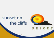 Sunset on the Cliffs Resort logo
