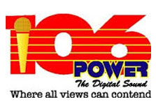 Power 106 FM Independent Radio Co logo