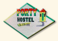 Porty Hostel logo