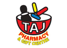 Taj Pharmacy & Gift Care logo