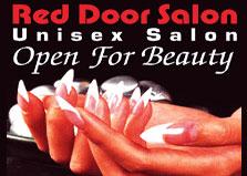 Red Door Unisex Salon logo