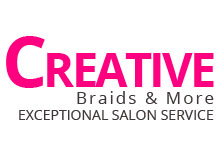 Creative Braids & More logo