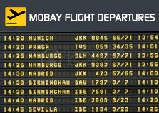 Montego Bay Flight Departures logo