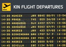 Kingston Flight Departures logo