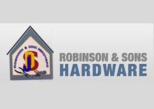 Robinson & Sons Hardware logo