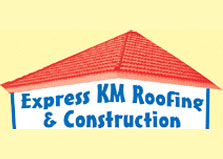 Express K M Roofing & Construction logo
