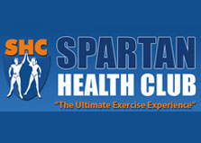 The Spartan Health Club logo