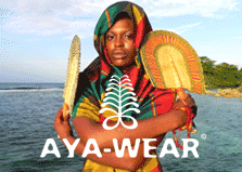 Aya Wear Modern Fashion + African Flair  logo