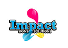 Impact Signs Solutions logo