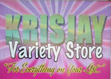 Krisjay Variety Store logo