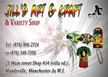Jill's Art and craft & variety shop logo