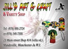 Jill's Art and craft & variety shop logo