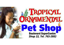 Tropical Ornamental Pet Shop logo