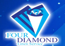 Four Diamond Linen Serv logo
