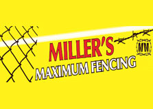Miller Maximum Security Fencing logo