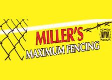 Miller Maximum Security Fencing logo