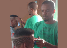 Enrich Barbers logo