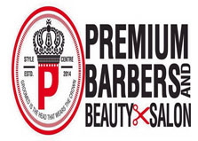 Premium Barbers & Beauty Salon logo