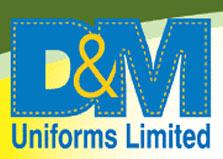 D & M Uniforms Ltd logo