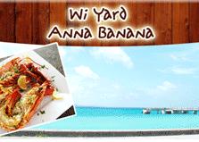 Anna Banana Restaurant & Live music logo
