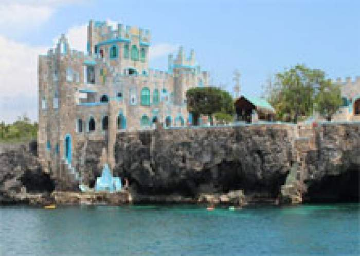 Blue Cave Castle logo