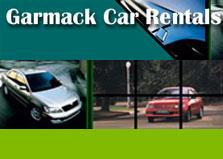 Garmack Car Rentals logo