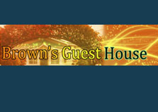 Brown's Guest House logo