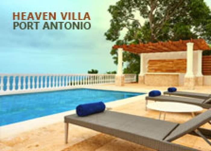 Heaven Villa logo