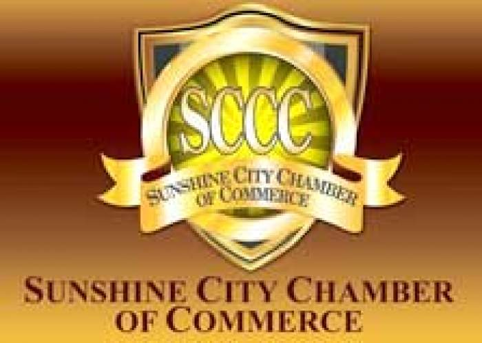 Sunshine City Chamber of Commerce logo