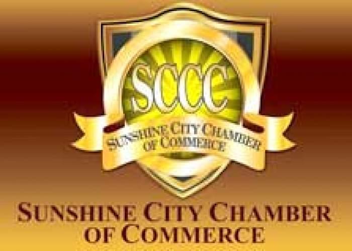 Sunshine City Chamber of Commerce logo