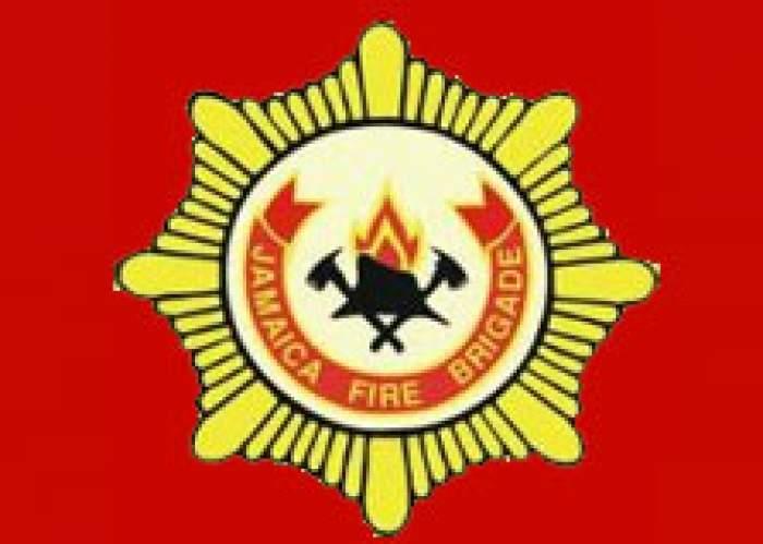 Jamaica Fire Brigade - Clarendon logo