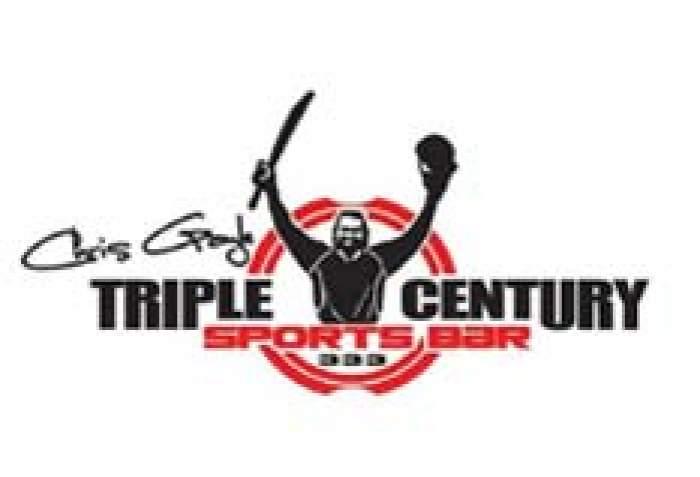 Triple Century Sports Bar logo
