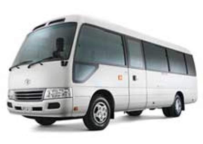 Private Coaster Bus - Mr Brown logo
