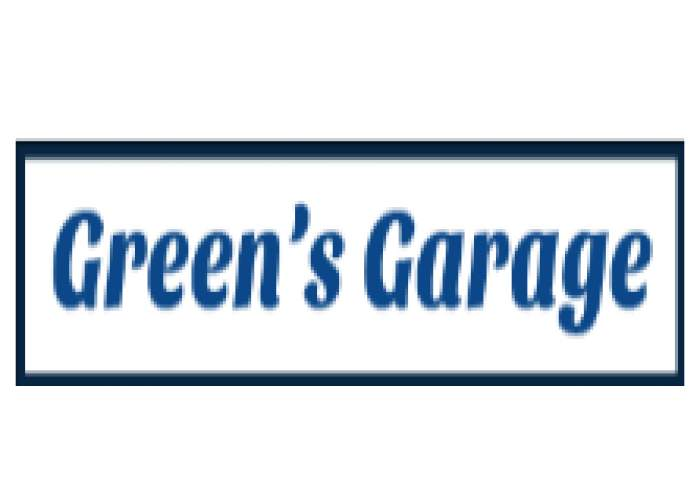 Green's Garage  logo