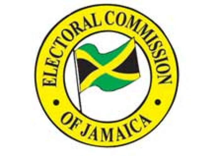 EOJ Electoral Commission of Jamaica logo