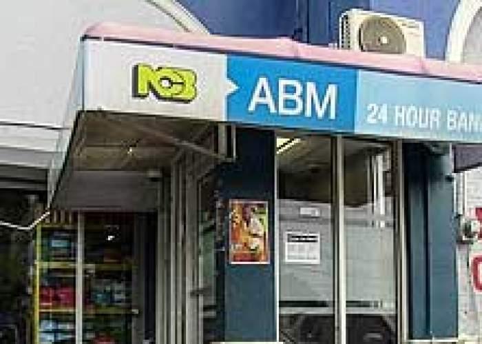 NCB ABM (ATM) logo