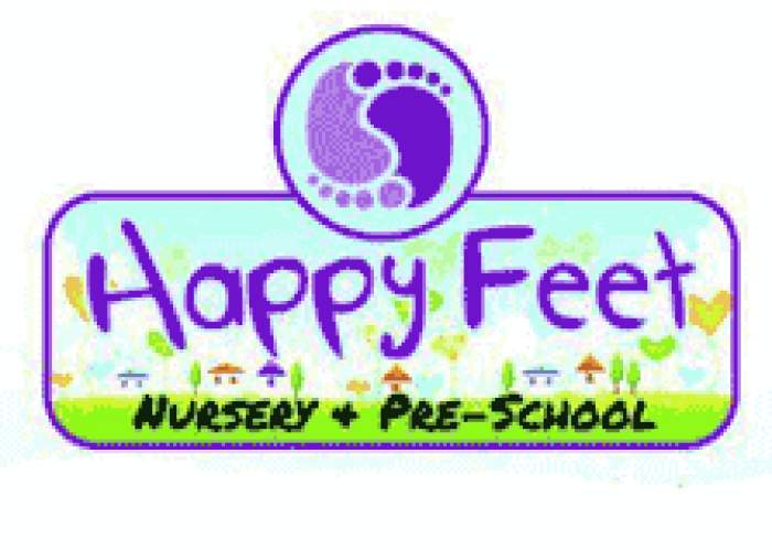 Happy Feet Nursery & Pre-School logo