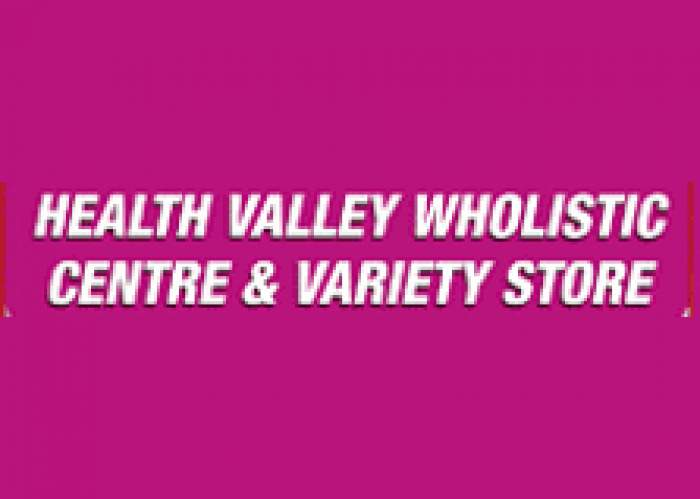 Health Valley Wholistic Cen & Variety Sto logo