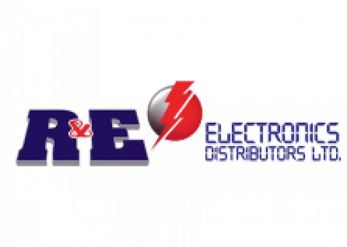 R & E Electronics Distributors Ltd logo