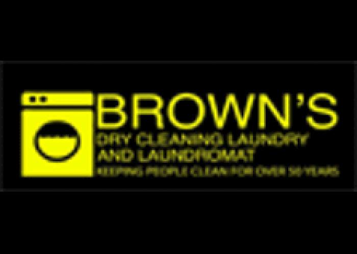 Brown's Dry Cleaning Laundry & Laundromat logo