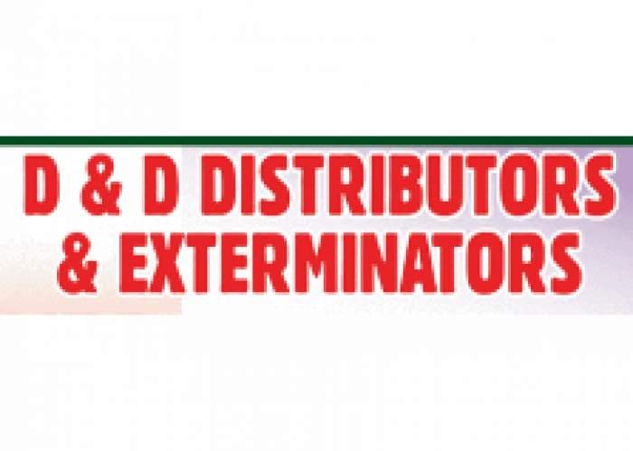 D & D Distributors & Exterminators logo