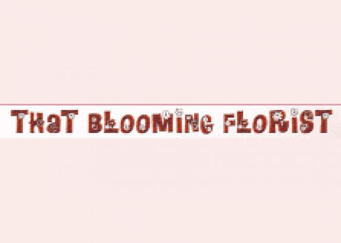 That Blooming Florist logo
