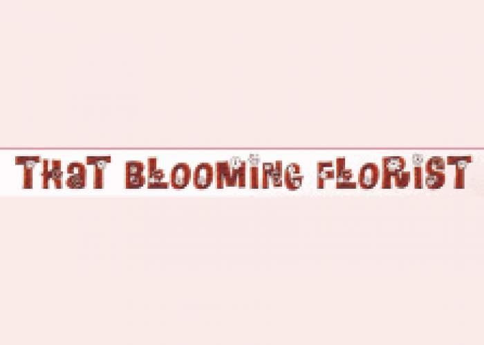 That Blooming Florist logo