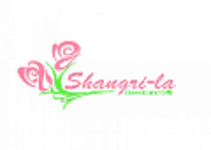 Shangri-La Flowers logo