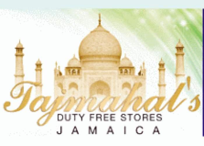 Tajmahal's Duty Free Store logo