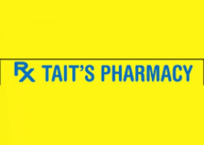 Tait's Clarendon Pharmacy logo