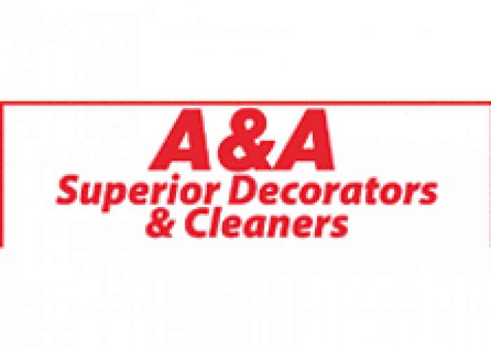 A & A Superior Decorators & Cleaners logo