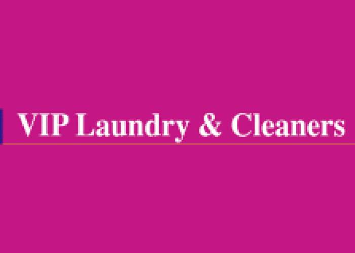 VIP Laundry & Cleaners logo